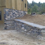 Stone Foundation and retaining wall